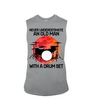 11 hat drum set old man Sleeveless Tee tile