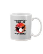 11 hat drum set old man Mug tile