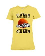 Formula Racing Most Old Men  Premium Fit Ladies Tee tile