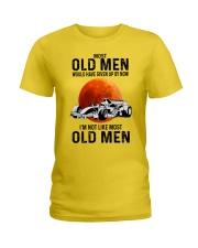 Formula Racing Most Old Men  Ladies T-Shirt tile
