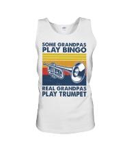 Trumpet Some Grandpas Unisex Tank tile