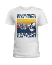 Trumpet Some Grandpas Ladies T-Shirt tile