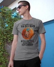 09 cycling old man color Classic T-Shirt apparel-classic-tshirt-lifestyle-17