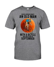 09 cycling old man color Classic T-Shirt front