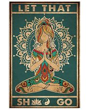 YOGA 24x36 Poster front