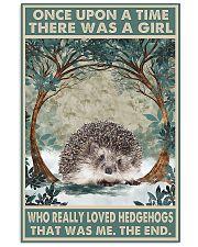 HEDGEHOG 24x36 Poster front