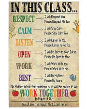 SCHOOL 24x36 Poster front