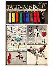 Taekwondo 24x36 Poster front