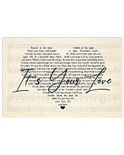 IT'S YOUR LOVE 17x11 Poster front