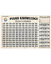 PIANO KNOWLEDGE 17x11 Poster front