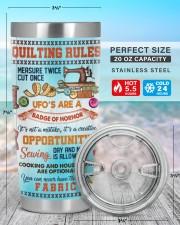 Quilting Rules Tumbler 20oz Tumbler aos-20oz-tumbler-lifestyle-front-47