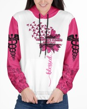 Certificate Nursing Assistant I Love The Person Women's All Over Print Hoodie aos-complex-women-hoodie-lifestyle-front-03