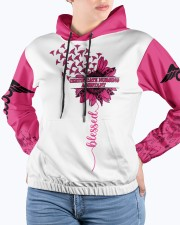 Certificate Nursing Assistant I Love The Person Women's All Over Print Hoodie aos-complex-women-hoodie-lifestyle-front-14