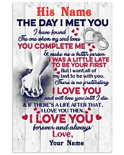 The Day I Met You 11x17 Poster front