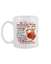 To Husband - Wife - Girlfriend Mug back