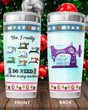 Sewing I Drive Fast And Barefoot 20oz Tumbler aos-20oz-tumbler-lifestyle-front-100
