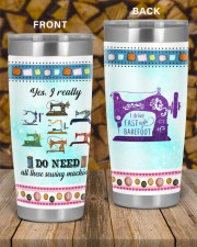 Sewing I Drive Fast And Barefoot 20oz Tumbler aos-20oz-tumbler-lifestyle-front-58
