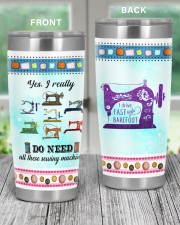 Sewing I Drive Fast And Barefoot 20oz Tumbler aos-20oz-tumbler-lifestyle-front-59