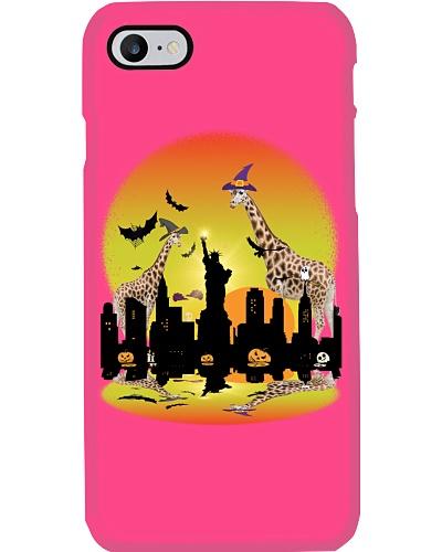 Giraffe Halloween  Shirt Funny