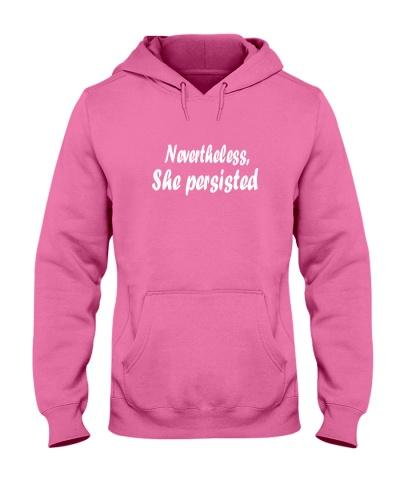 Nevertheless She Peristed