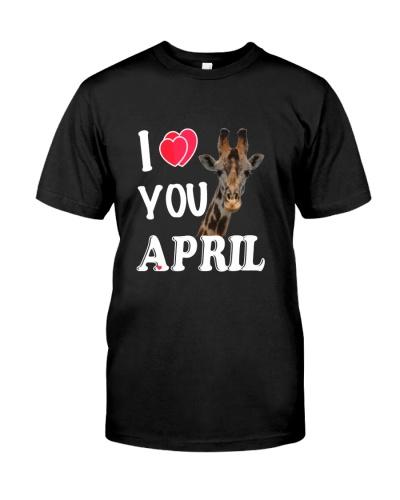 I LOVE APRIL