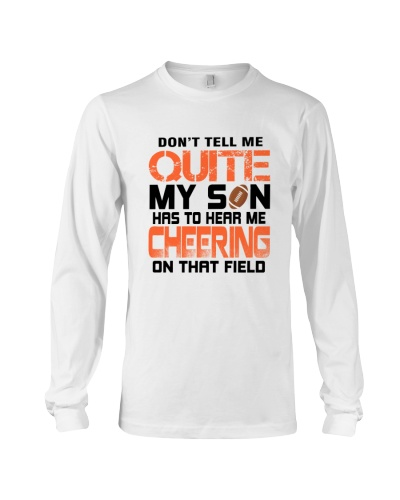 Dont Tell Me Quite My Son