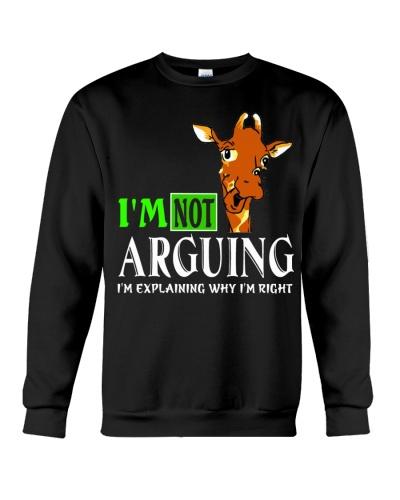 I M NOT ARGUING
