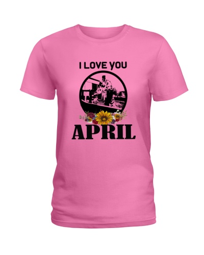I LOVE YOU APRIL