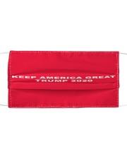 KEEP AMERICA GREAT 2020 Cloth face mask thumbnail