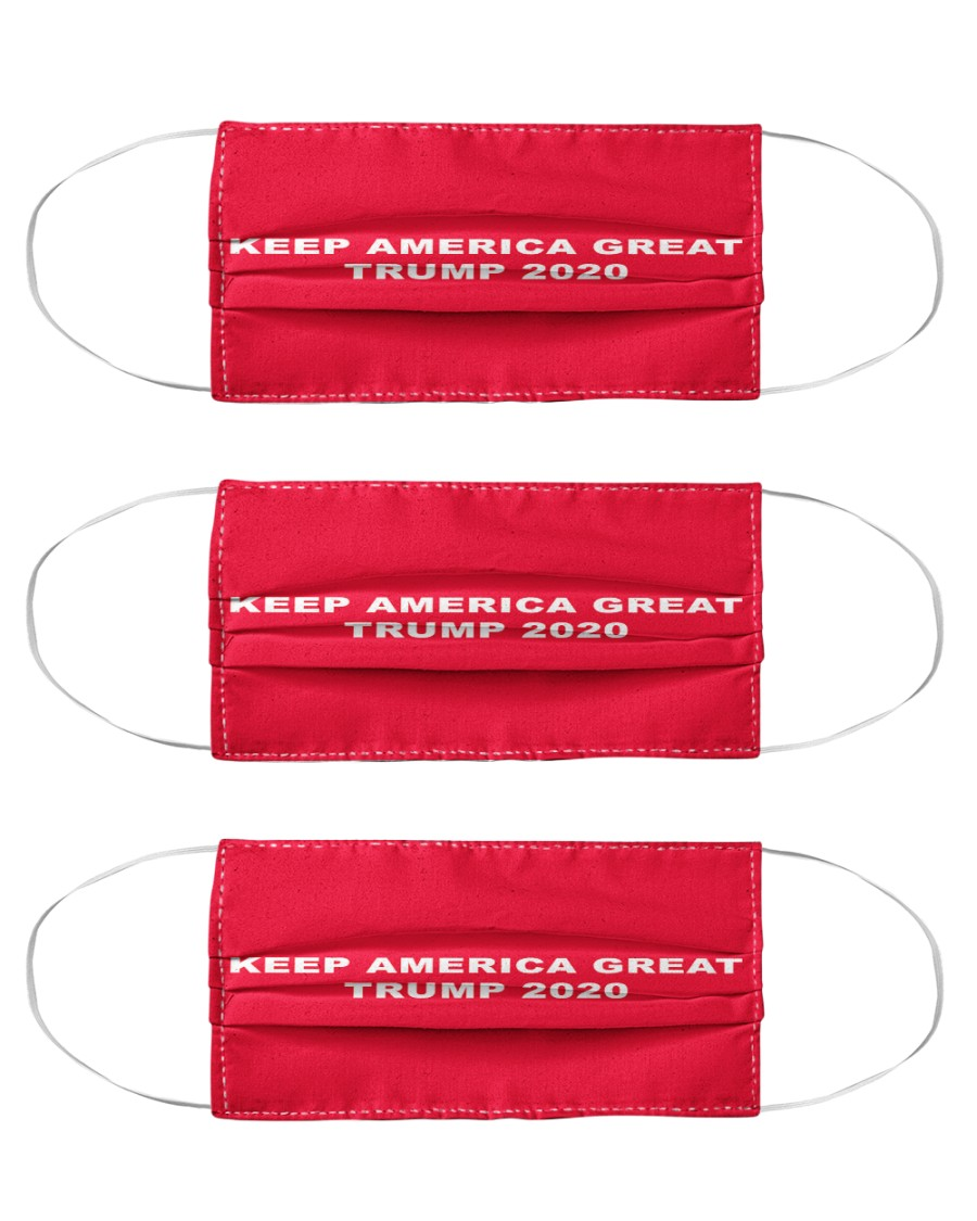 KEEP AMERICA GREAT 2020 Cloth Face Mask - 3 Pack