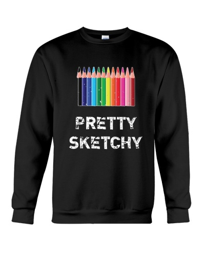 ART TEACHER Pretty Sketchy