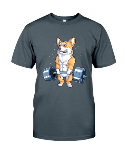 WEIGHT LIFTING Corgi 2