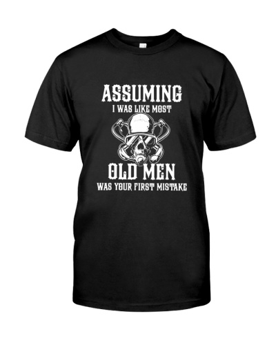 SCUBA DIVING Assuming Old Men
