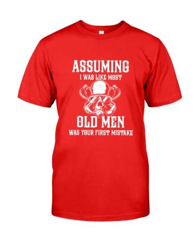 SCUBA DIVING Assuming Old Men