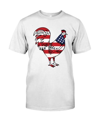 CHICKEN   American Flag Chicken