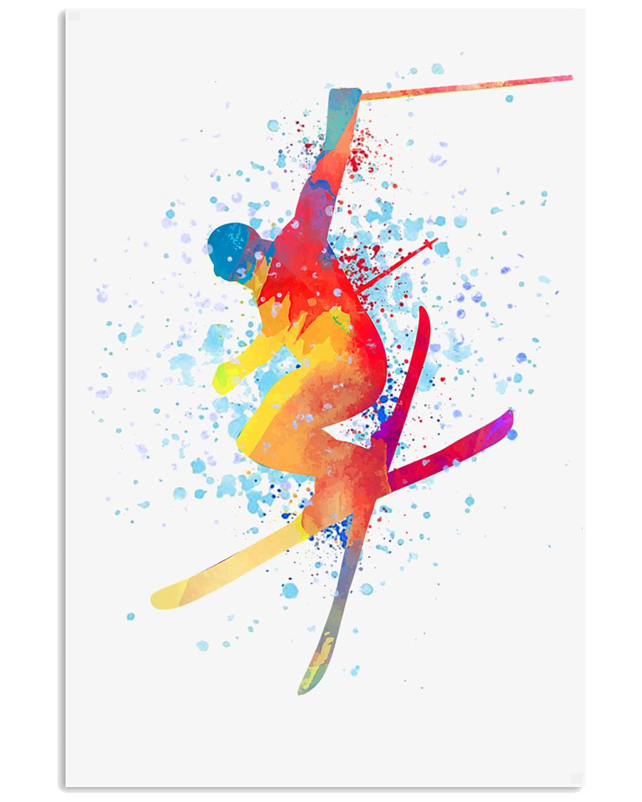 SKIING Poster Freestyle 24x36 Poster