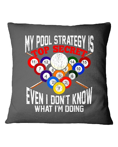 BILLIARD   My Pool Strategy