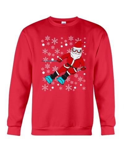 SKIING Santa Claus Christmas