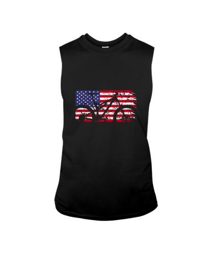 MOUNTAIN BIKING   American Flag