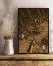 MOUNTAIN BIKING Illustration Poster 3 24x36 Poster lifestyle-poster-3