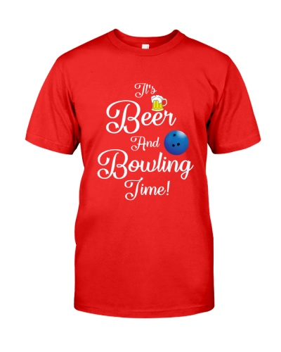 BOWLING It Is Beer And Bowling Time