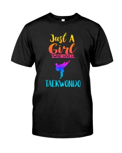 TAEKWONDO Just A Girl Who Loves Taekwondo