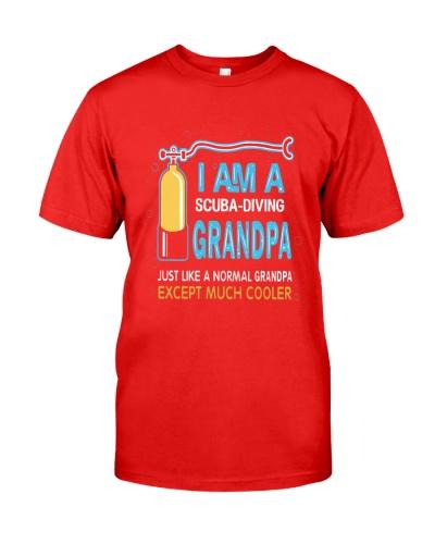 SCUBA DIVING Grandpa