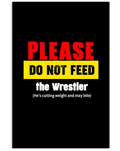 WRESTLING   Please do not feed