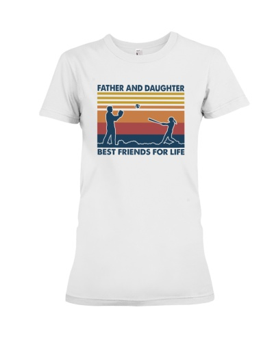SOFTBALL   Father And Daughter