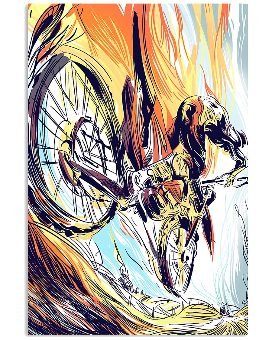 MOTOCROSS Graphic Poster 24x36 Poster