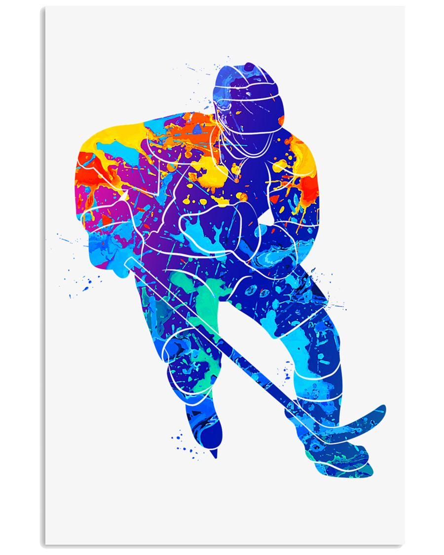 HOCKEY Poster Colorful 24x36 Poster