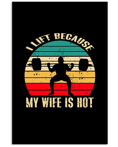 WEIGHT LIFTING   I lift because my wife