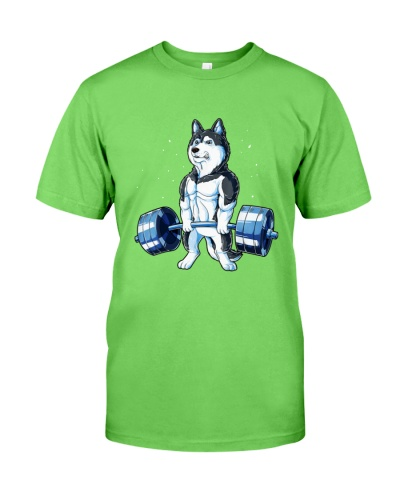 WEIGHT LIFTING Siberian Husky 2