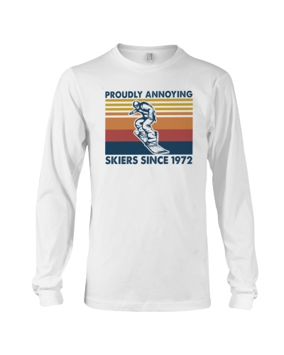 SNOWBOARDING   Proudly annoying